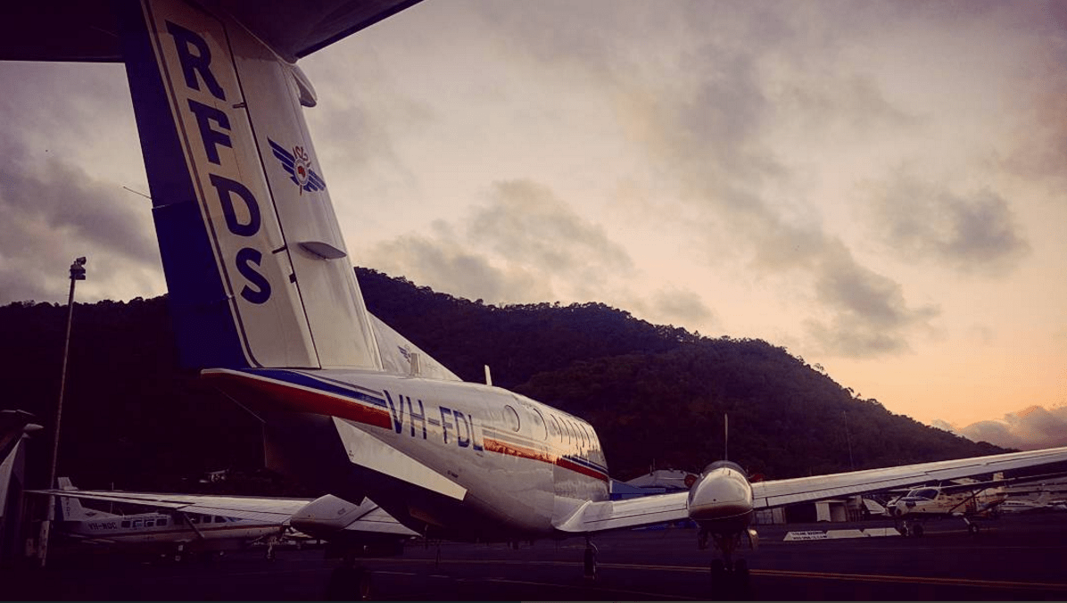 Royal Flying Doctors Service VR Aircraft