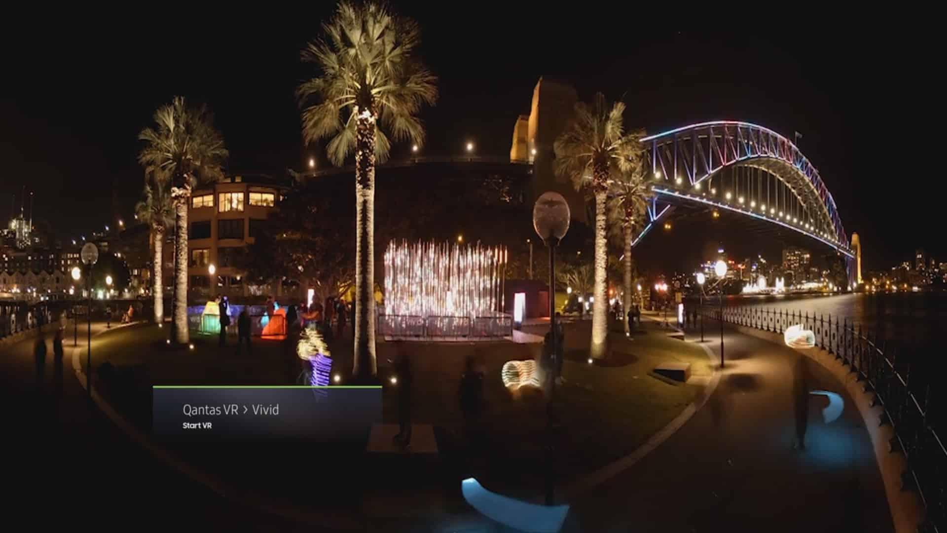 Samsung VR B2B Showcase Video Sample