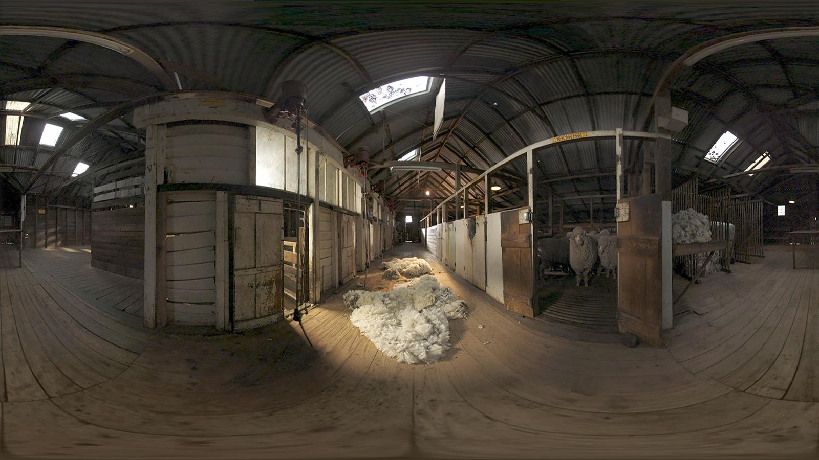Woolmark VR Menu project screenshot 03