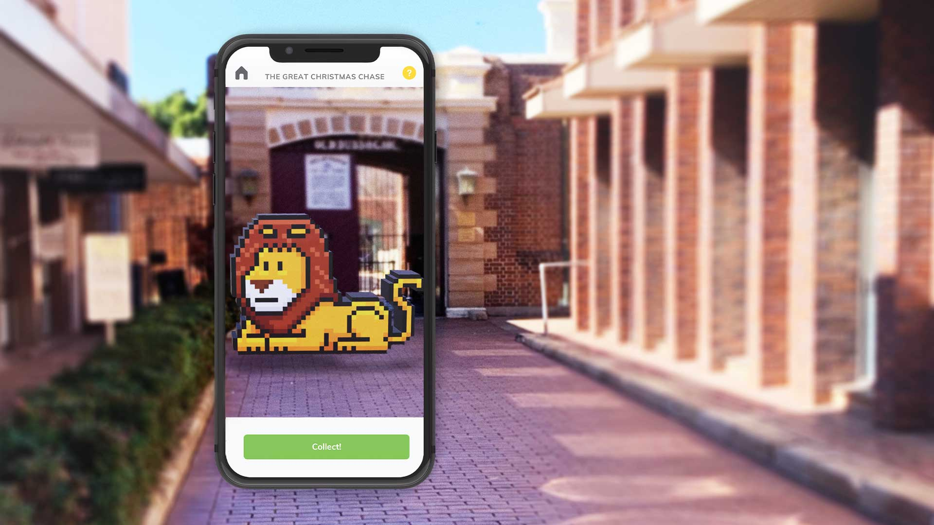 """Dubbo Regional Council AR """"Collect-a-character"""""""