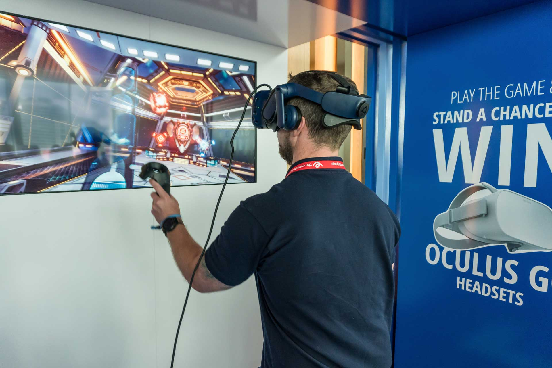 Tricentis VR and AR Project Event Activation Photo 01