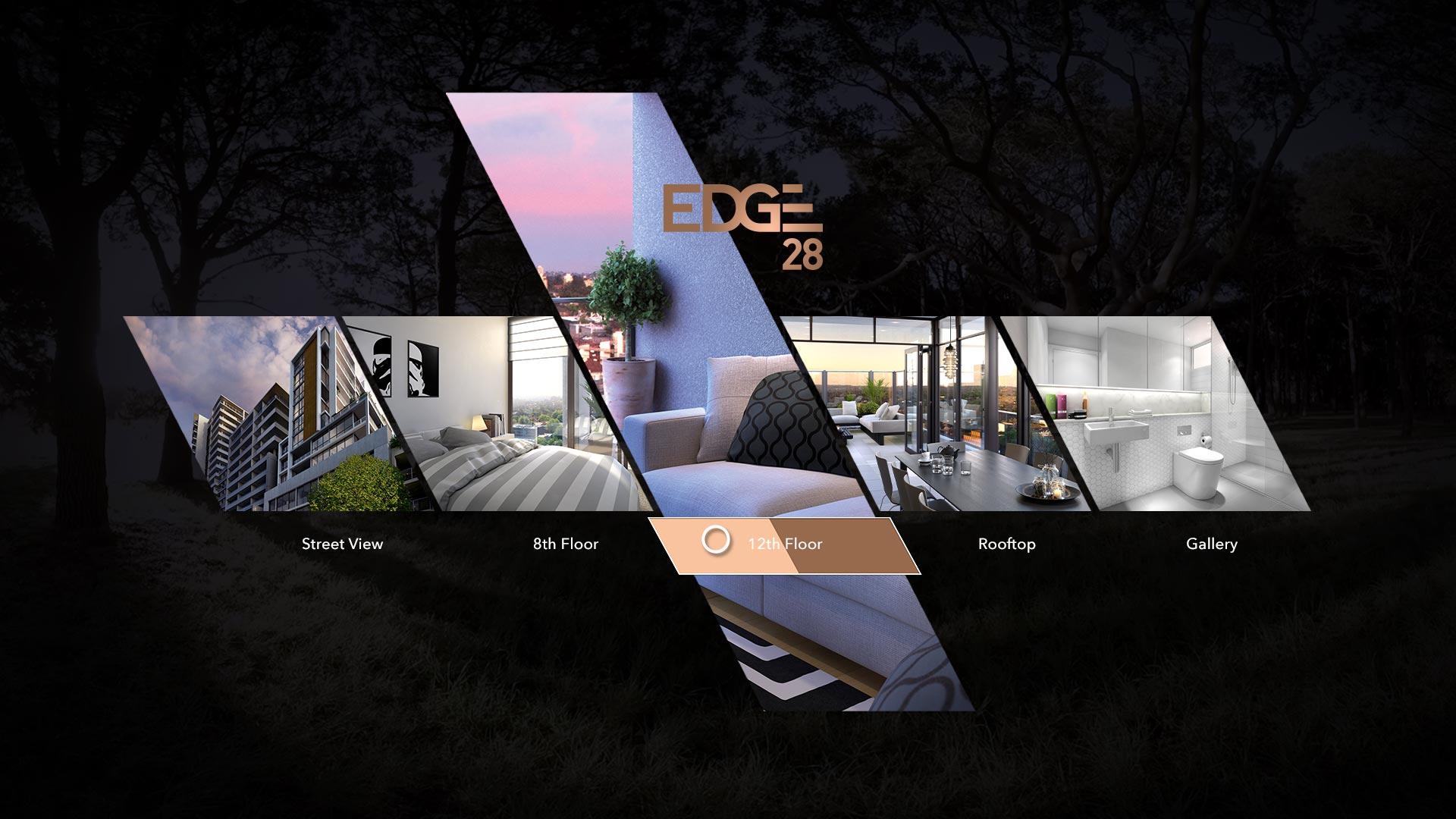 Edge 28 VR Interface