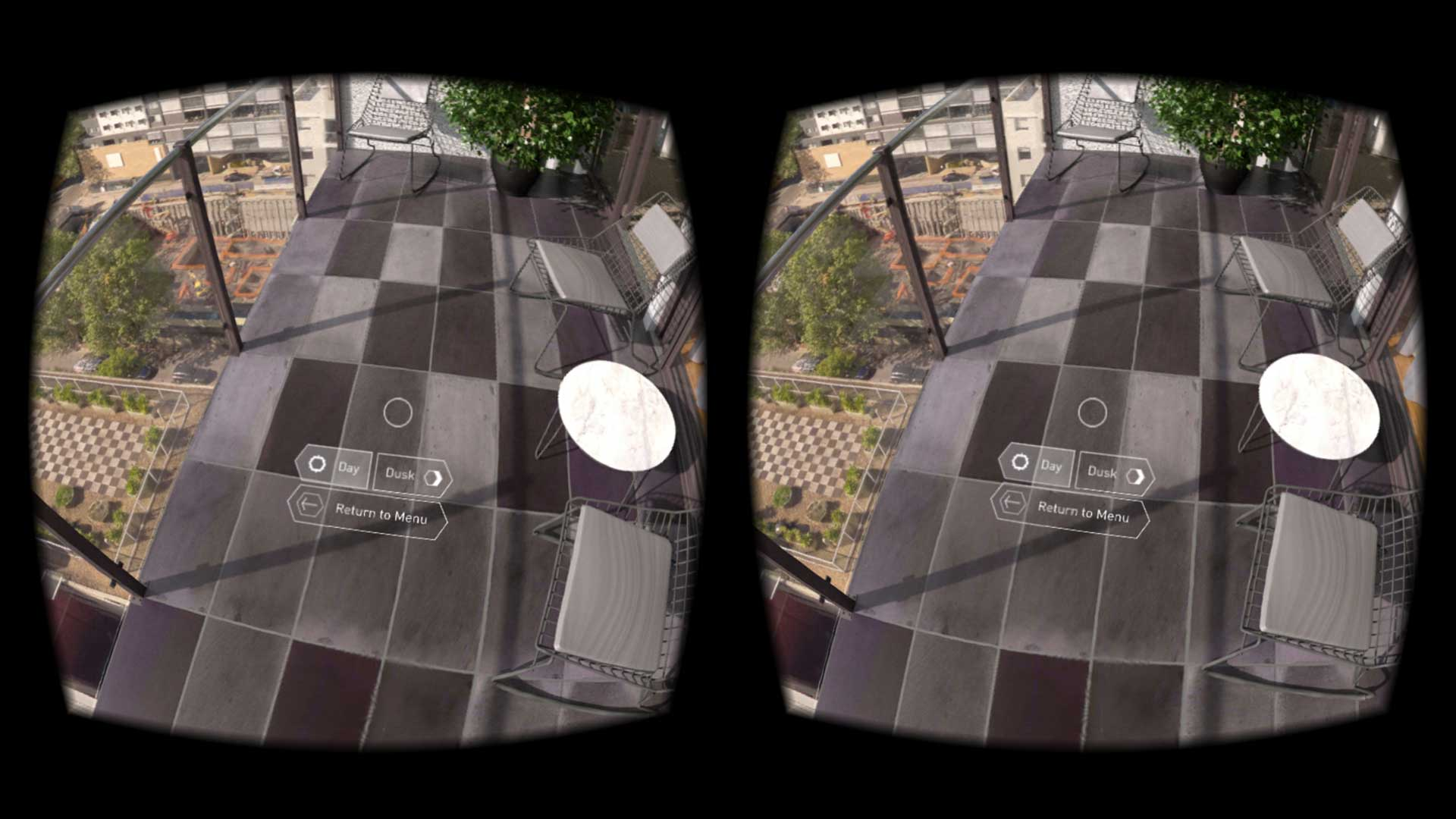 Real Estate VR interface