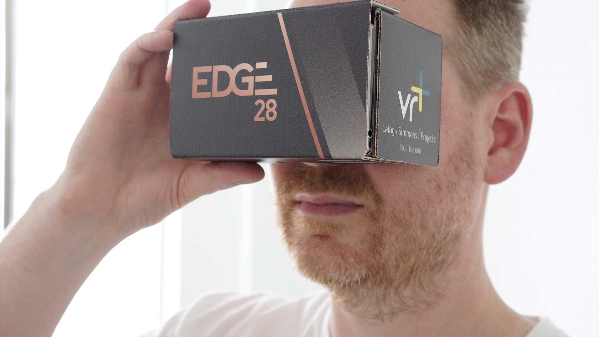 Real Estate VR Cardboard Sales Tool