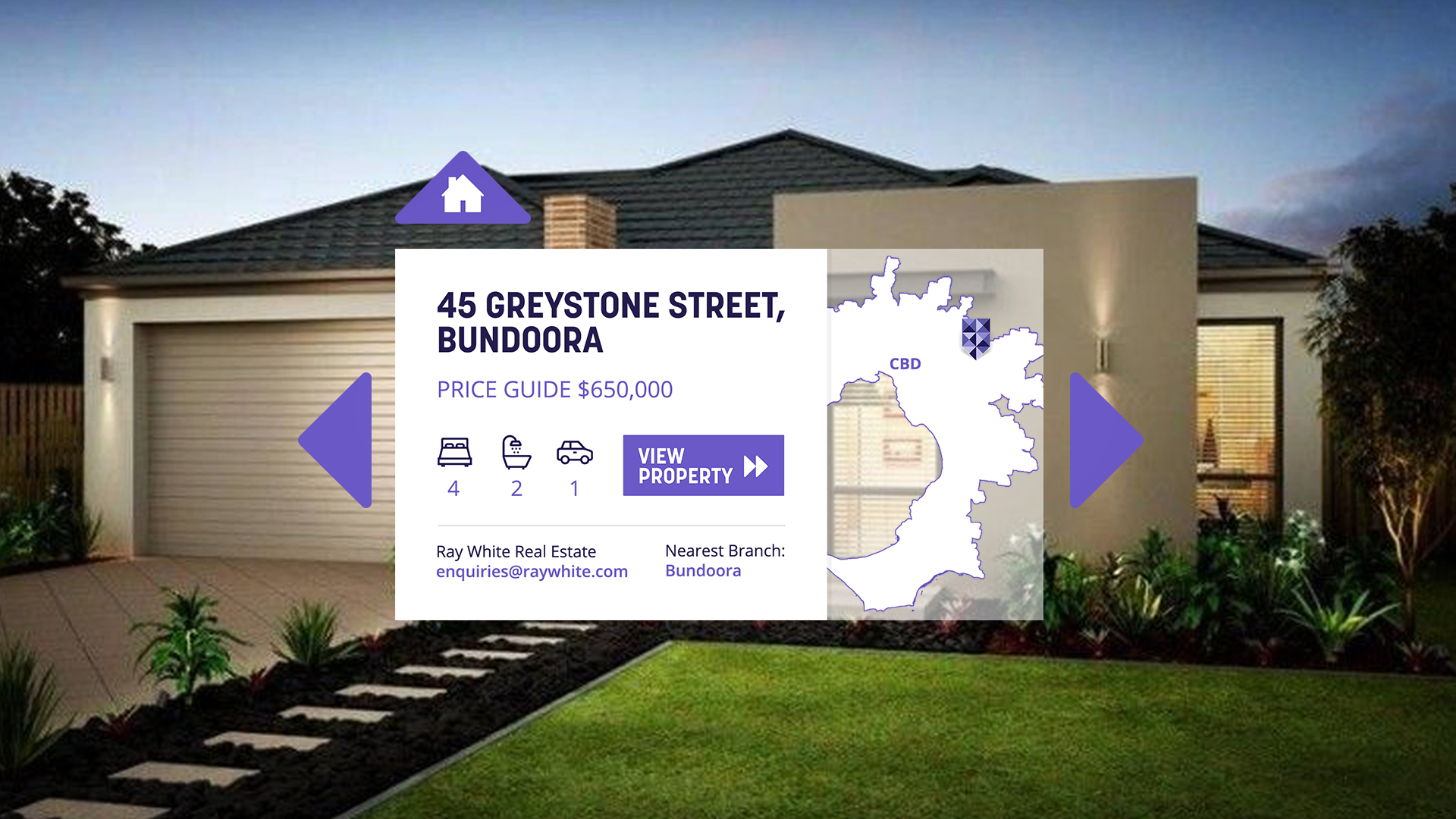 Bank of Melbourne VR Real Estate project with Domain