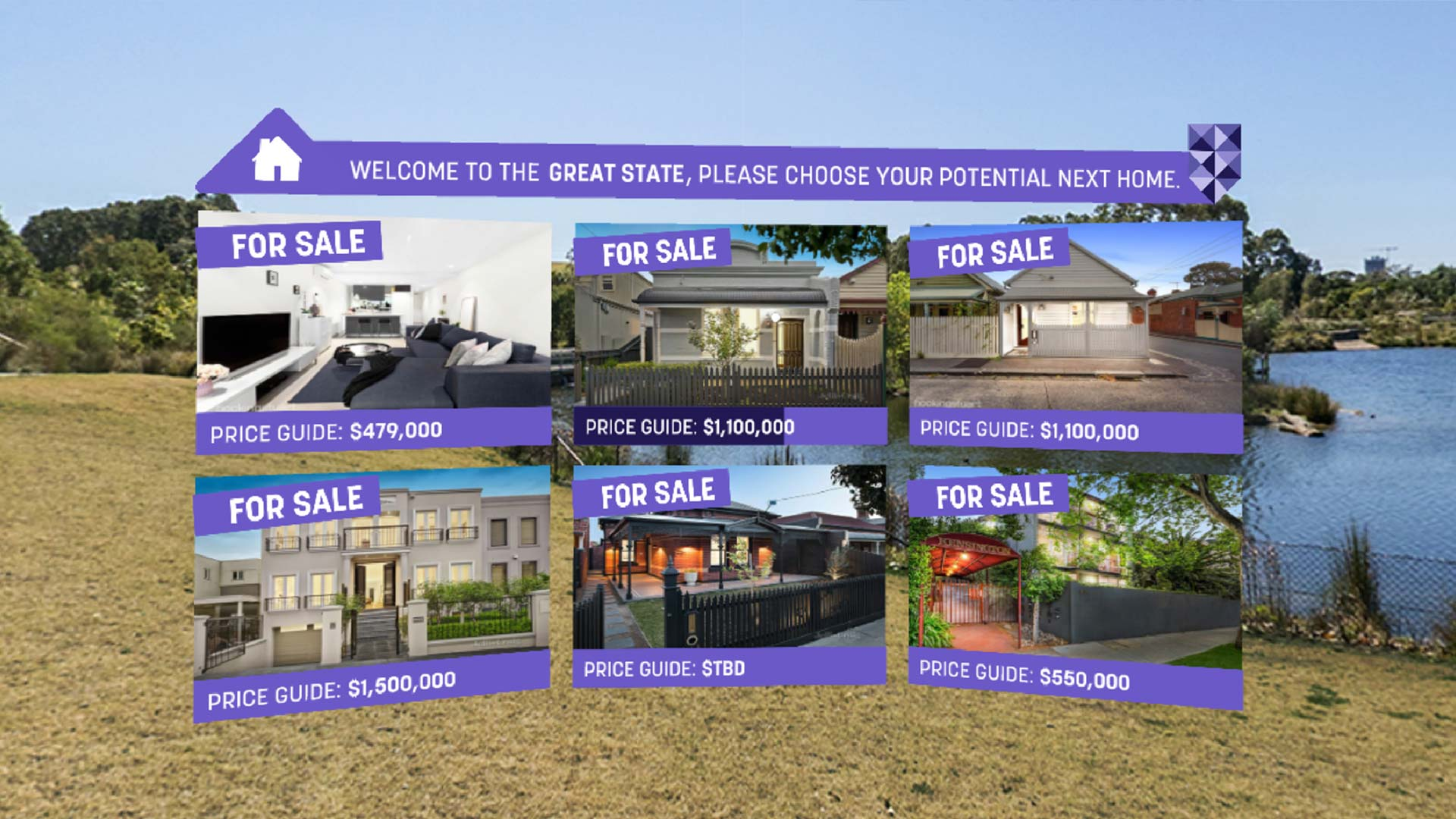 Real Estate VR Image of The Great State Rate VR by Start Beyond 03