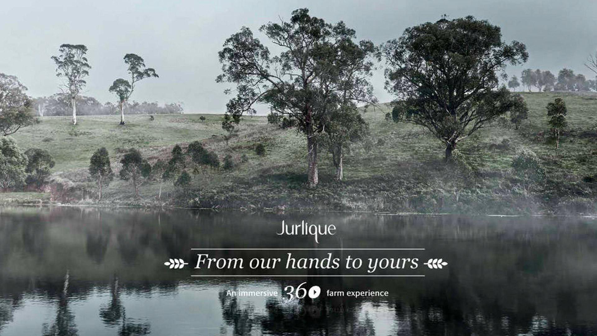 Jurlique Come to Life Concept Frame