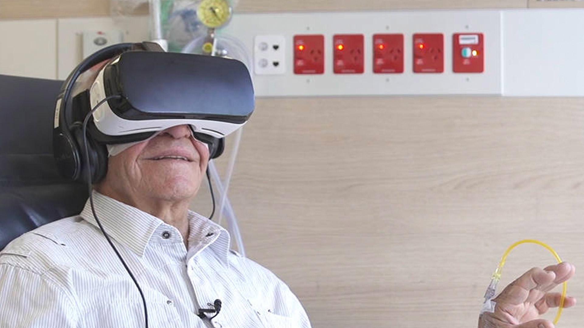 Chris O'Brien Lifehouse VR Therapy Trial Hero