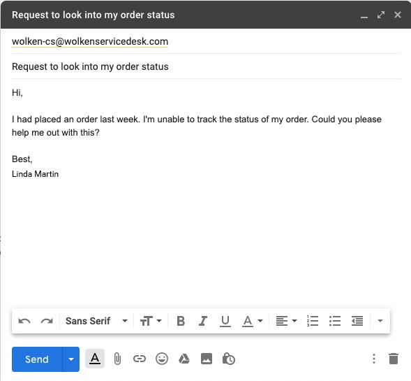Wolken Email