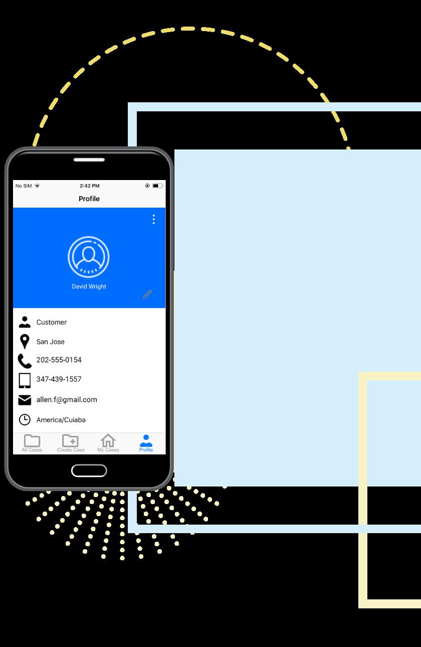 Wolke Mobile App User Profile