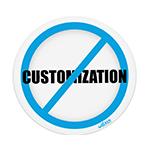 Wolken Customization Card