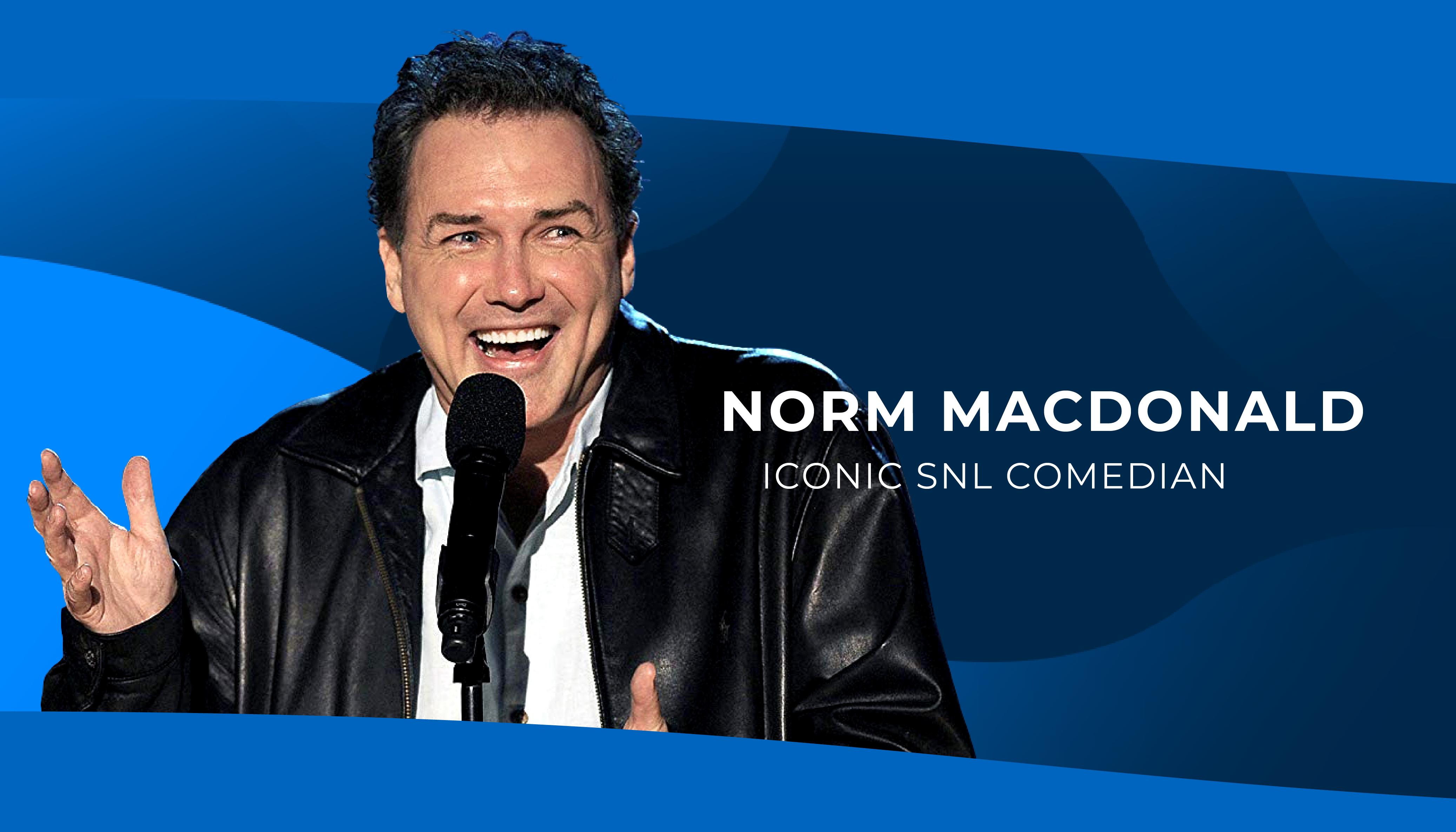 Norm Macdonald, SNL Comedian