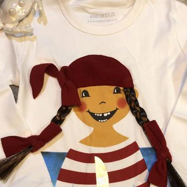 Piratin Paula langarm