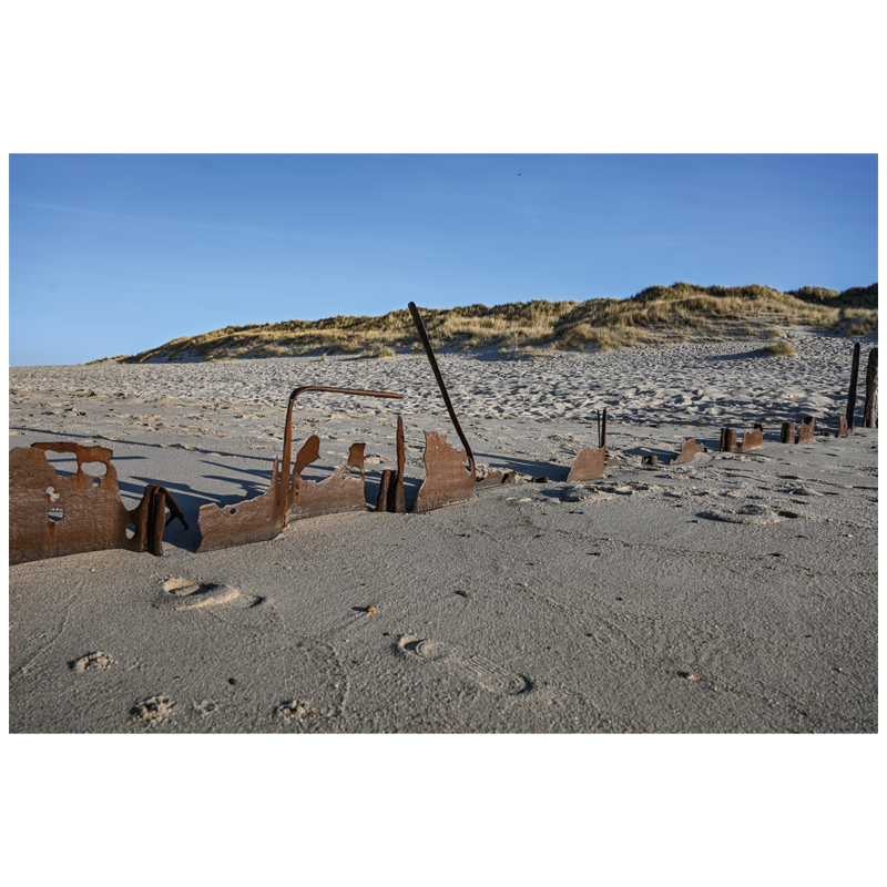 Rustic Dunes - Sylt auf Leinwand