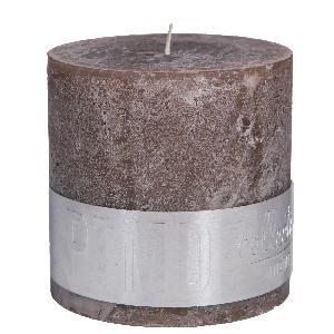 Rustic Kerze braun