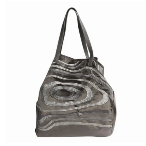 Schultertasche Maria / taupe