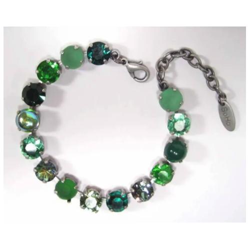 Armband peridot grünmix