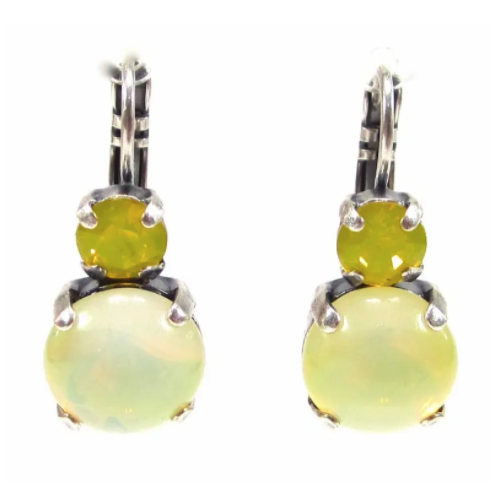 Ohrhänger sabrina gelb opal