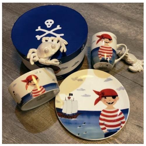Piraten Frühstücksset