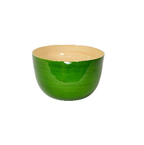 Bambusschalen grasgrün