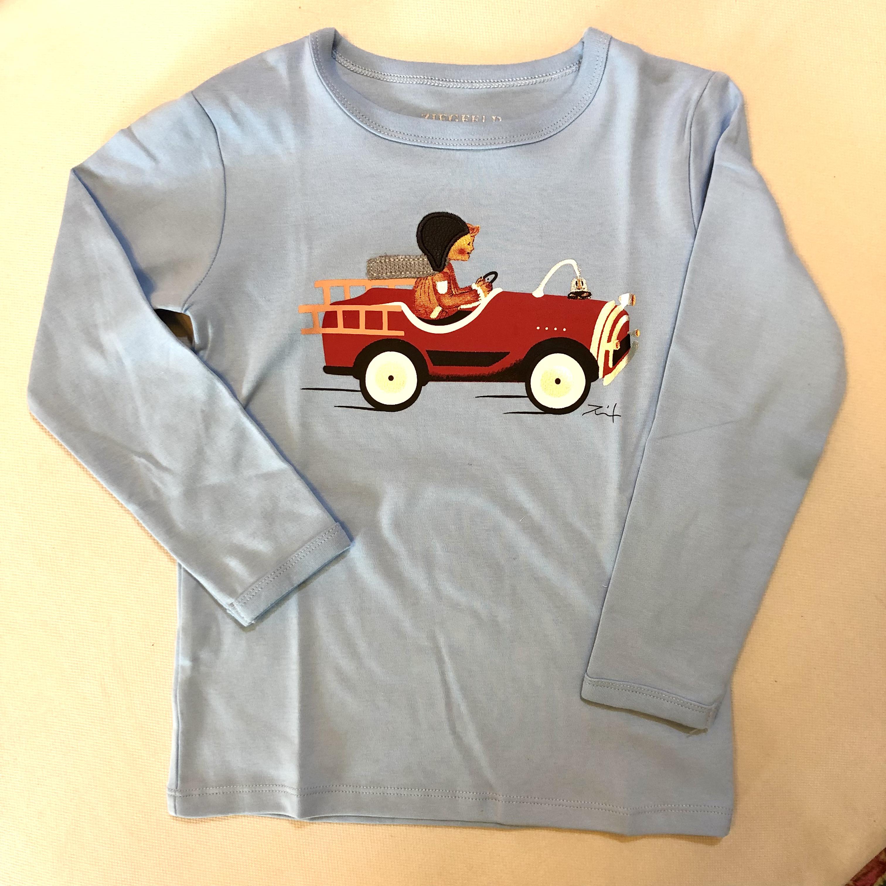 "Kinder Shirt "" Bob im Feuerwehrauto"""