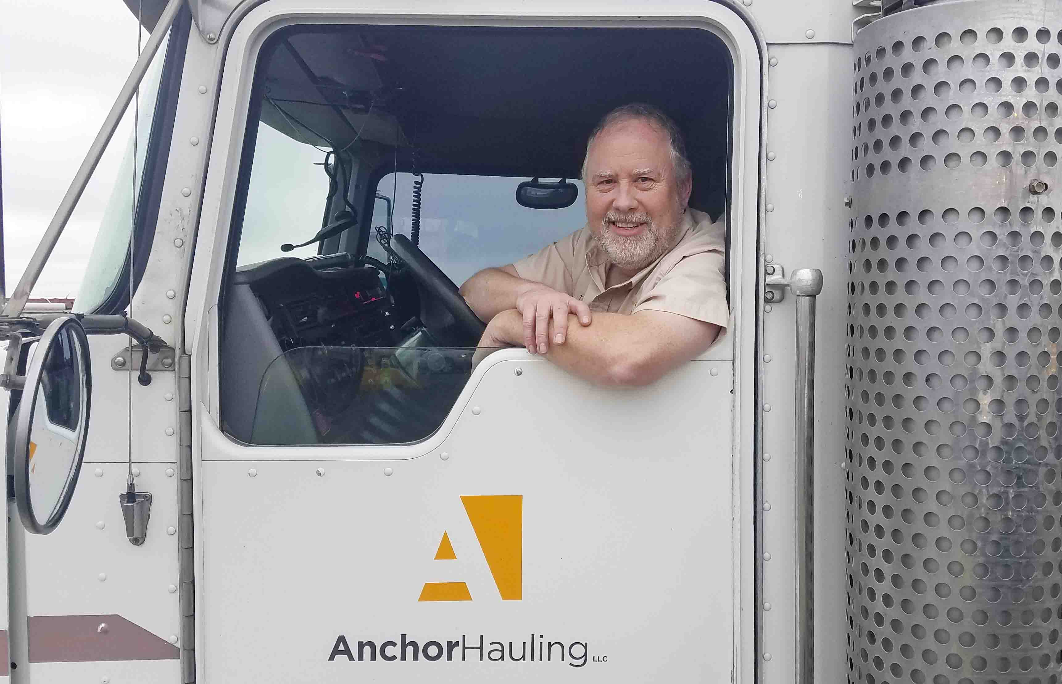Anchor Hauling Team member on trucking team.