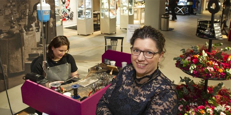 Goudsmid Marijke Mul finalist Haarlemse ondernemersprijs