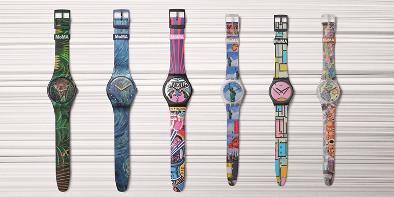 Swatch en MoMa: special edition-horloges