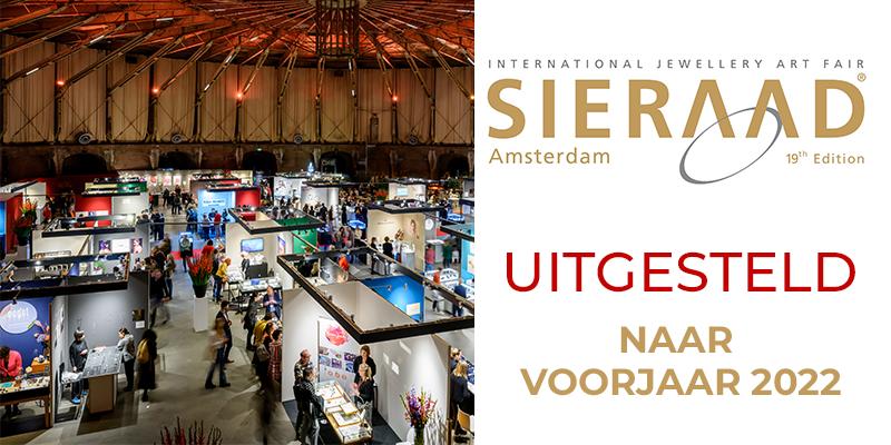 Sieraad Art Fair uitgesteld naar voorjaar 2022