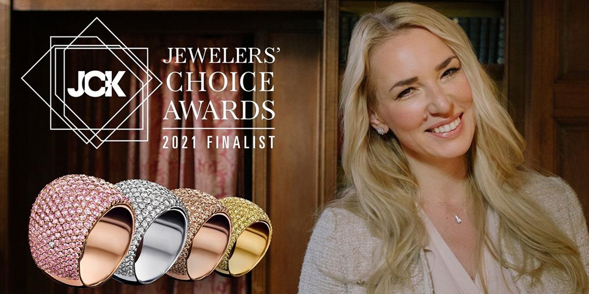 Nederlandse juwelenontwerpster Alice Sunderland in de prijzen