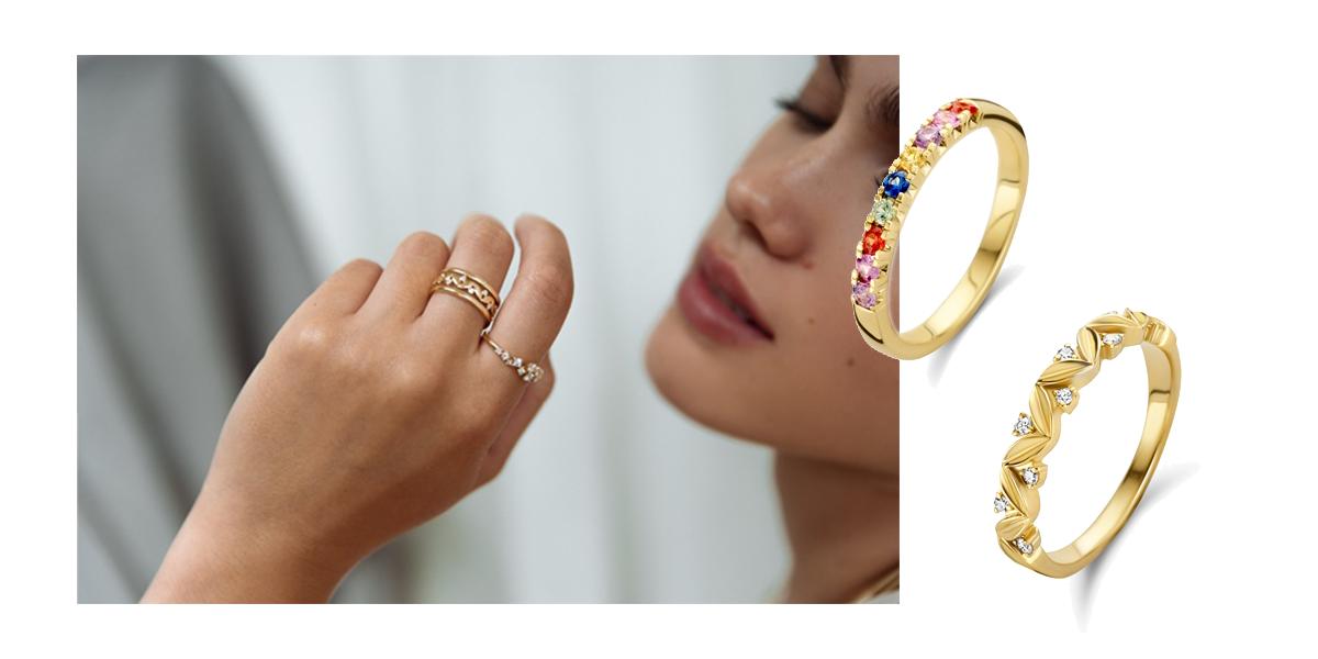 Excellent Jewelry volgt trends met gekleurde saffier