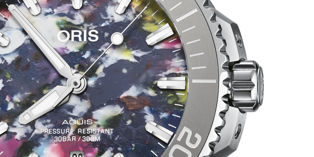 Oris Aquis Date Upcycle: Turning the #Tide