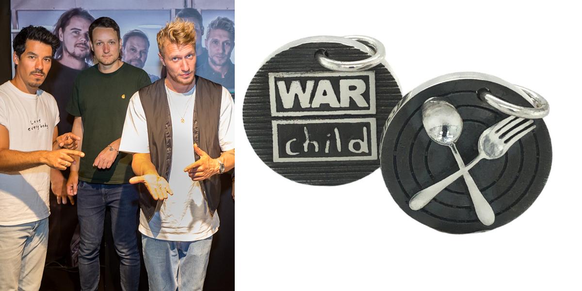Chef'Special ontwerpt War Child bedel