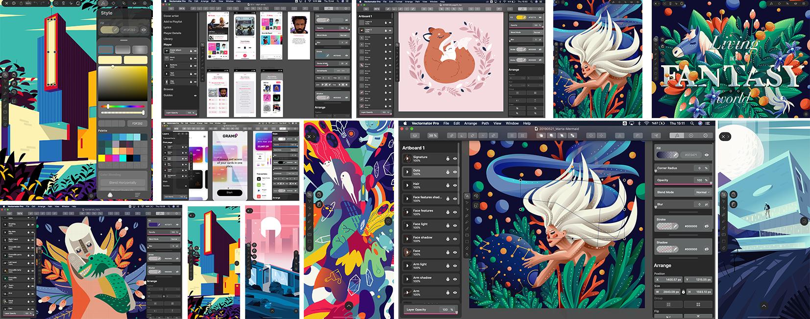 ipad graphic design gallery