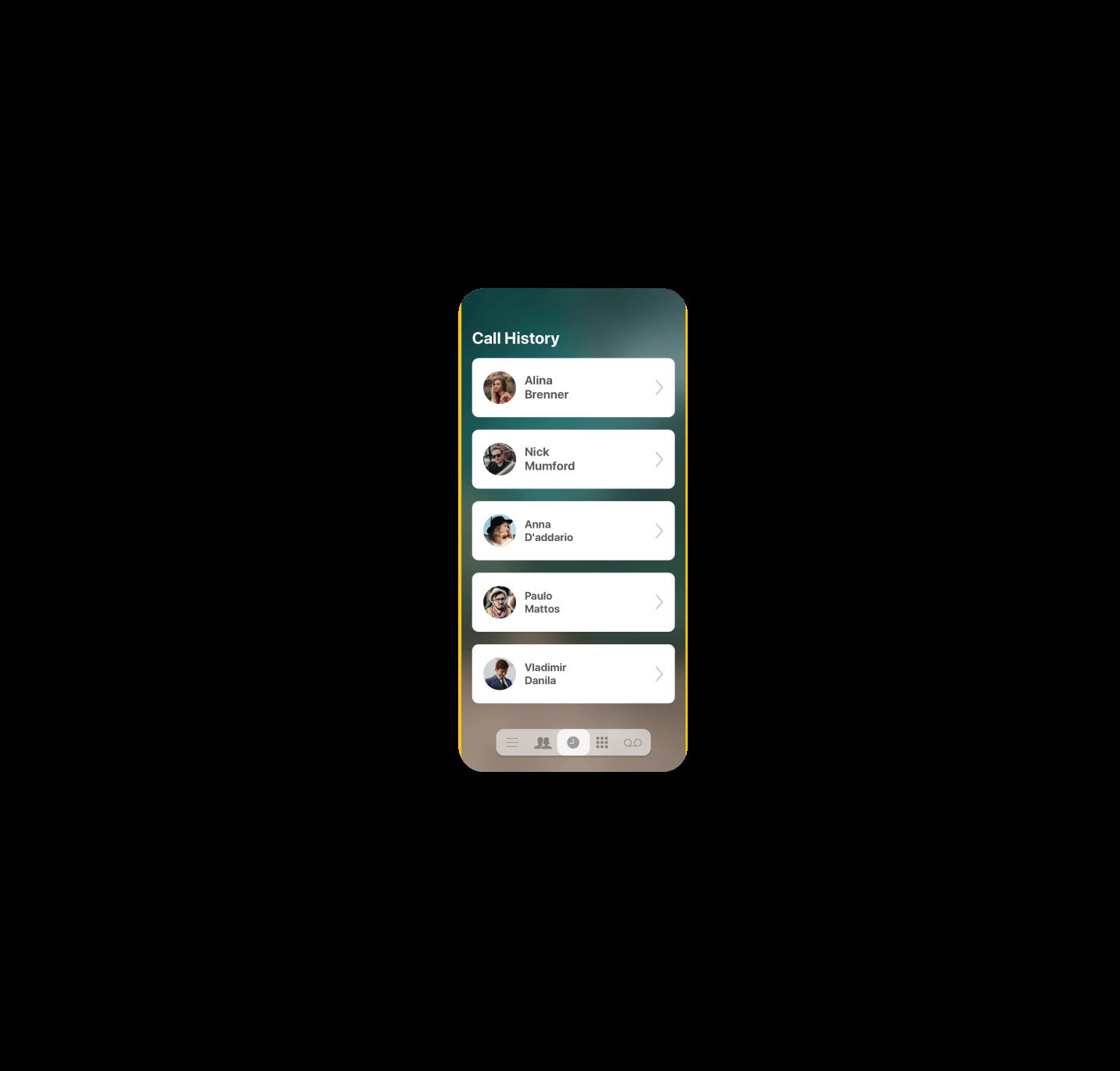UI iPhone