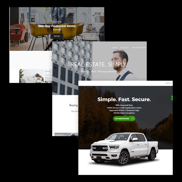 Marketing Agency Landing Page & Custom Web Design