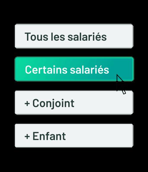 Etape 4 choix avantages salariés
