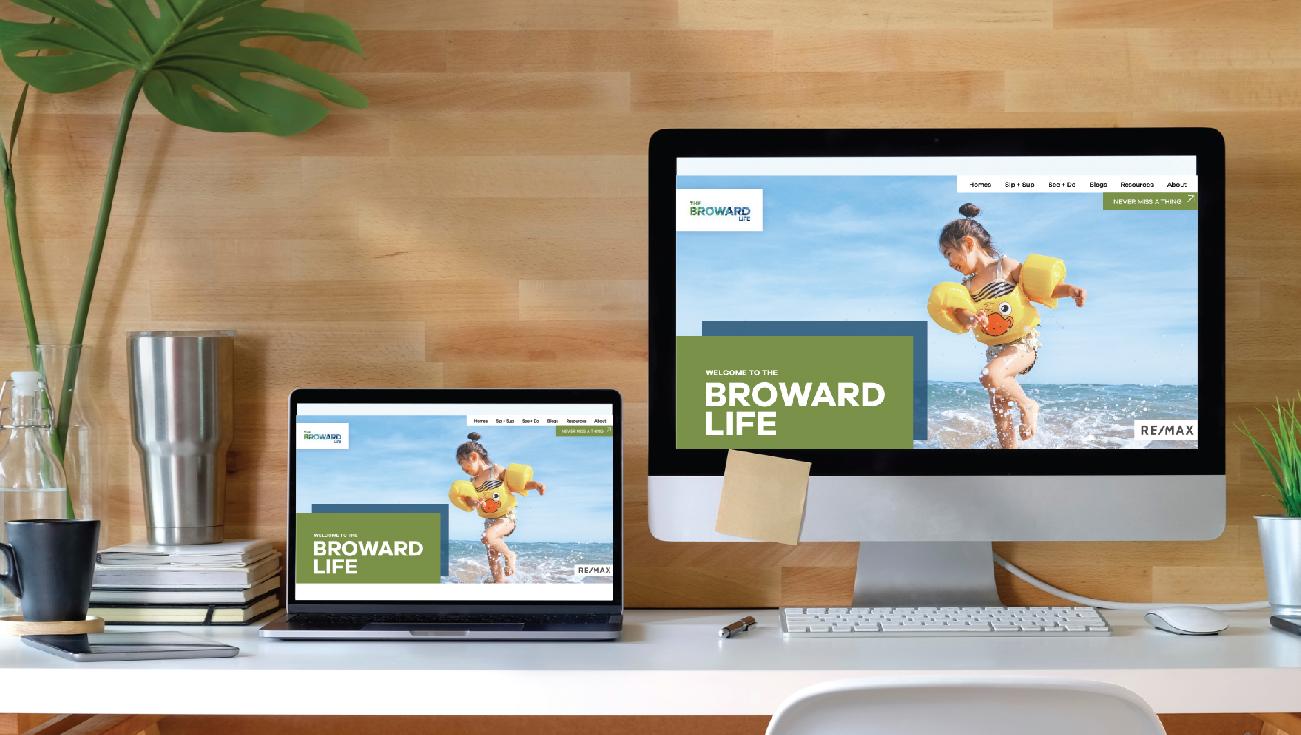 The Broward Life website.