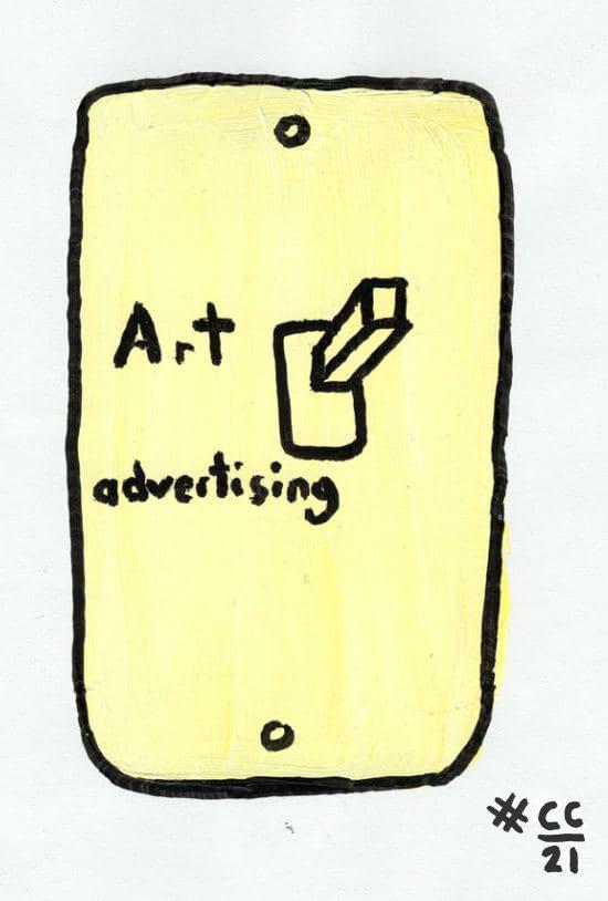 Art vs Advertising