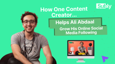 ali abdaal content creator youtuber grow audience and following