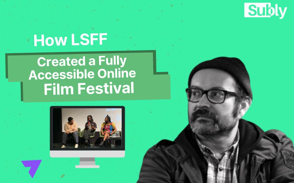 film festival accessibility philip ilson online event