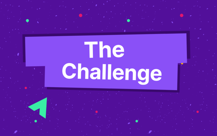 text, the challenge