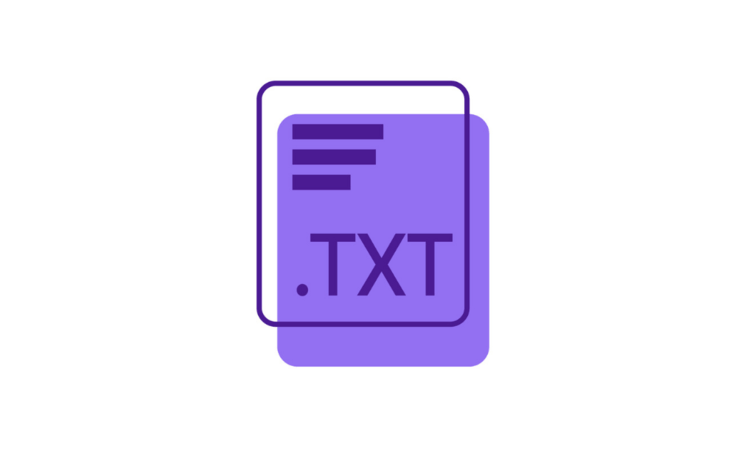Rectangle with TXT written inside