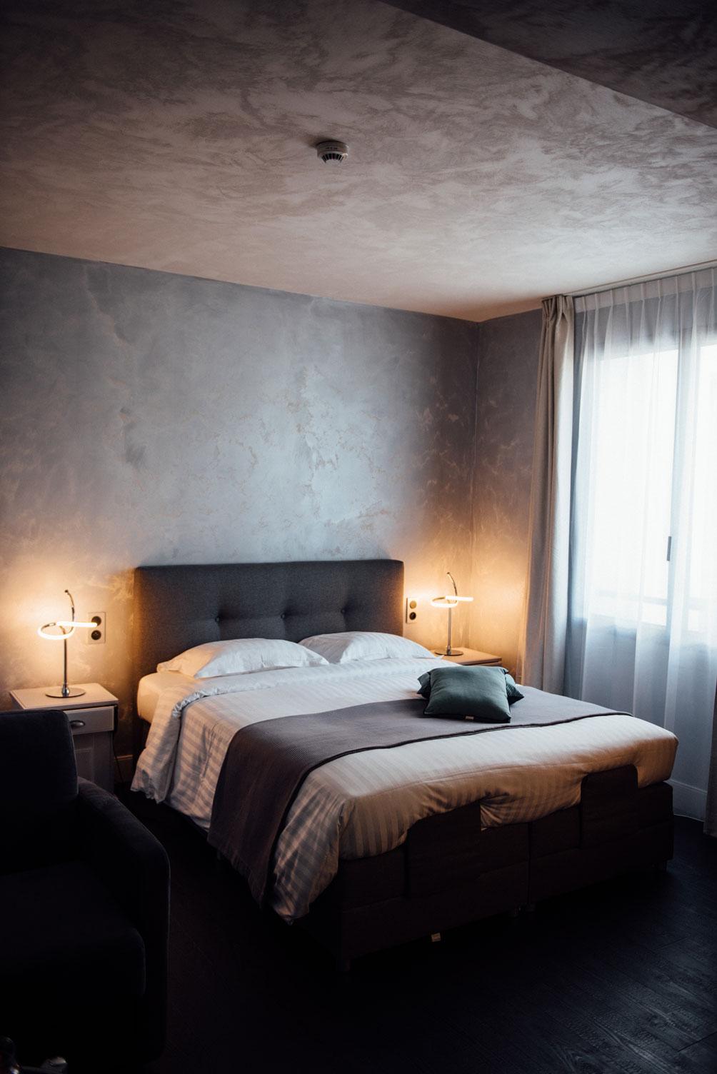 Vue d'ensemble de la chambre double Balnéo Amirauté Hôtel La Baule