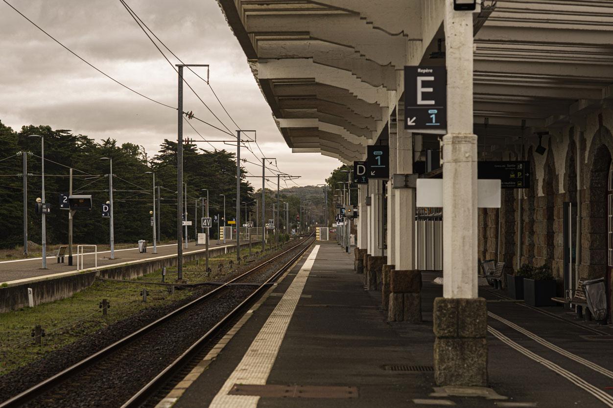 Extérieur ville gare | La Baule