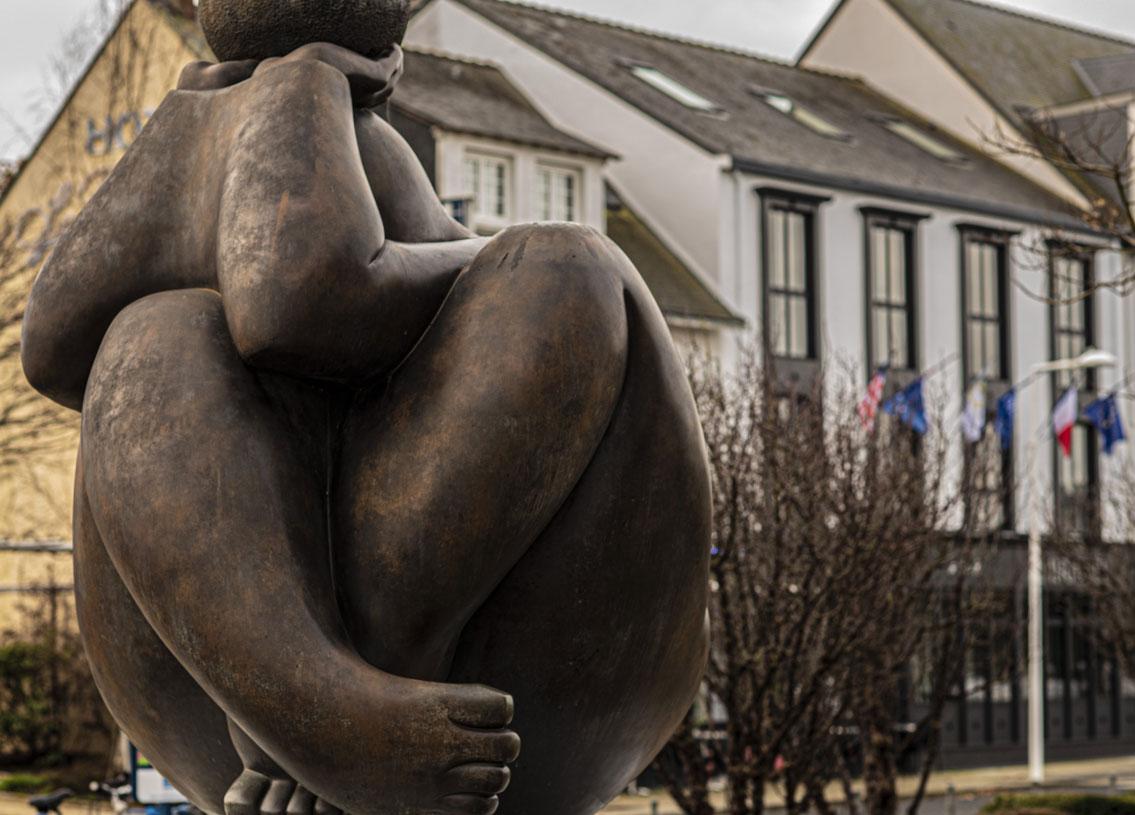 Extérieur ville sculpture parc | Amirauté Hôtel La Baule