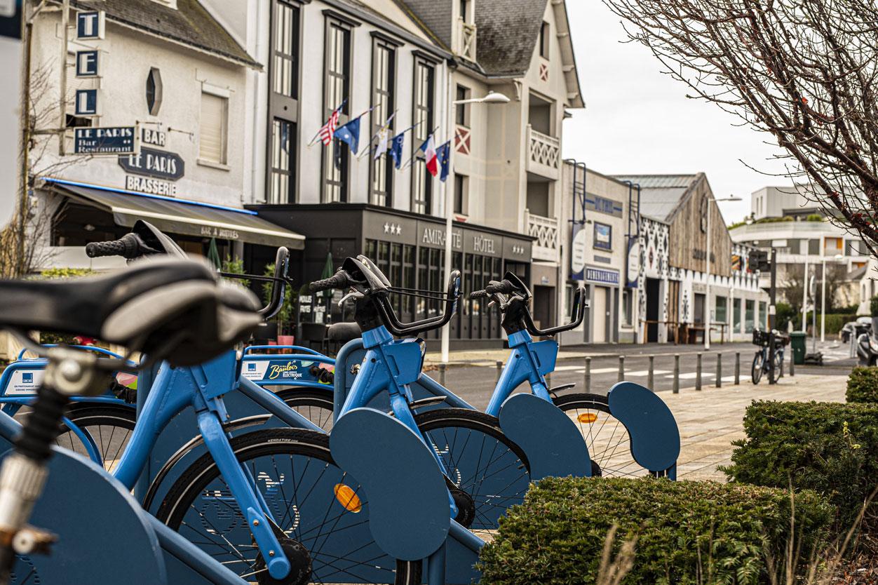 Extérieur ville vélo tourisme | Amirauté Hôtel La Baule