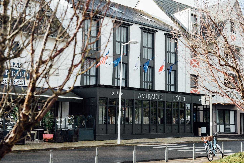 Extérieur façade | Amirauté Hôtel La Baule