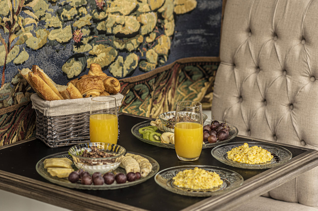 Petit déjeuner | Amirauté Hôtel La Baule