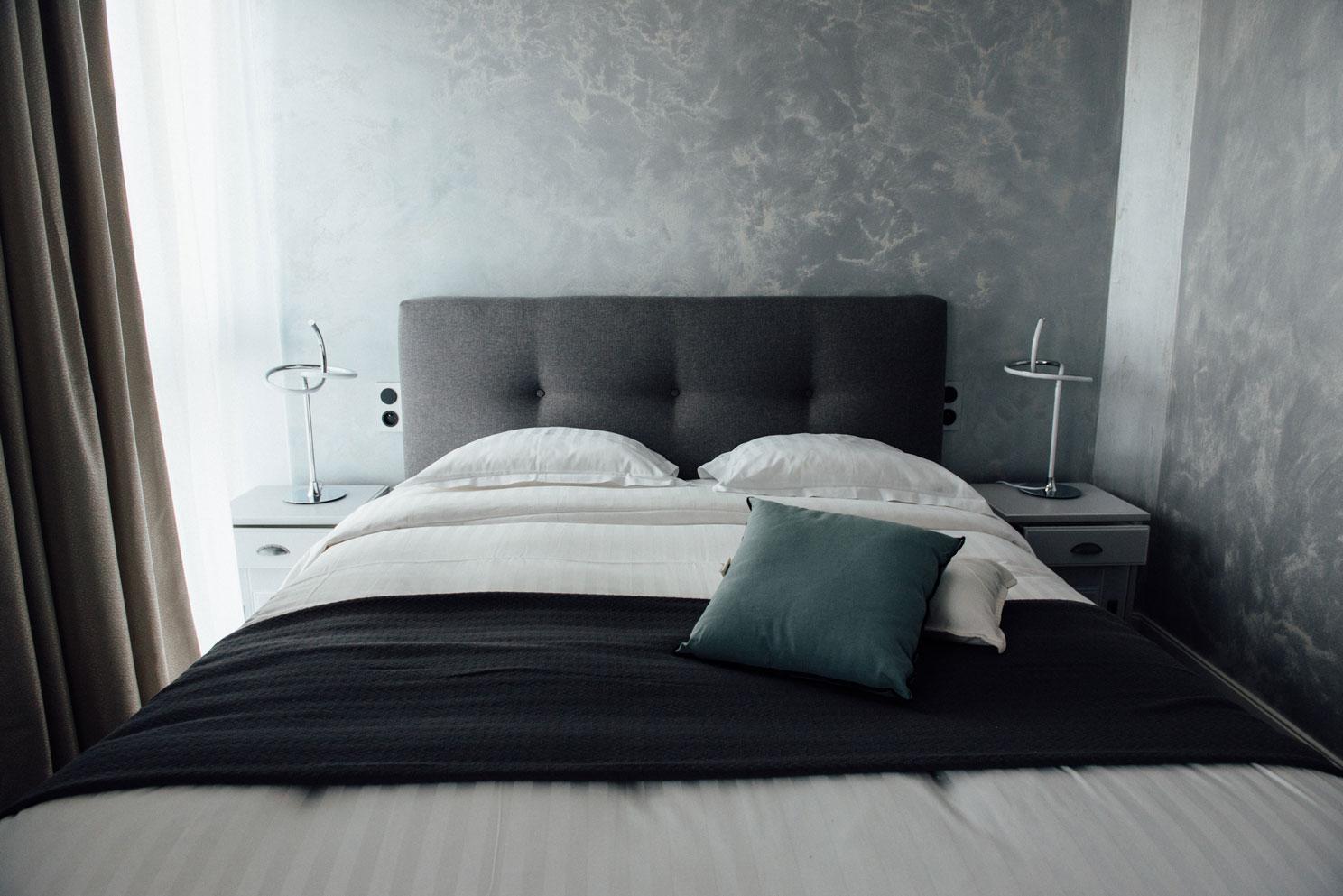 Chambre standard lit éléctrique 2 places | Amirauté Hôtel La Baule